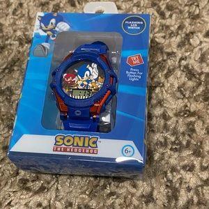 Sonic The Hedgehog Flashing LCD Watch